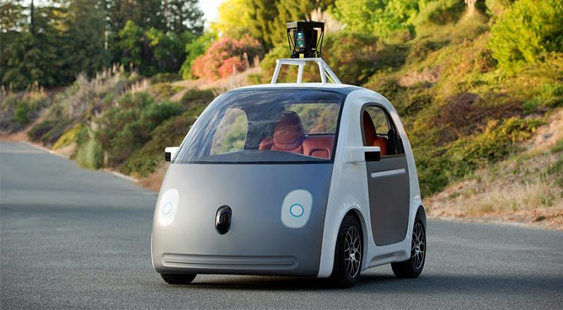 Google self driving car first prototype