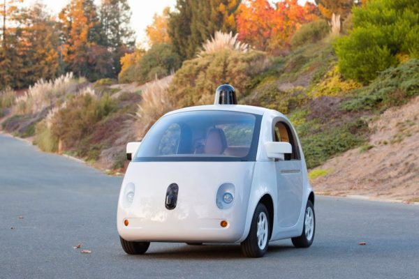 Google self driving car working prototype