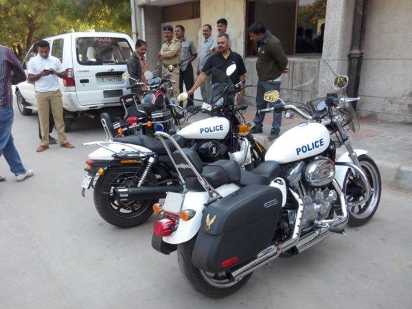 Gujarat-Police-Motorcycle-Harley-Davidson-1