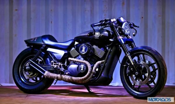 Harley Cafe racer Street 750 by Motomiu (1)