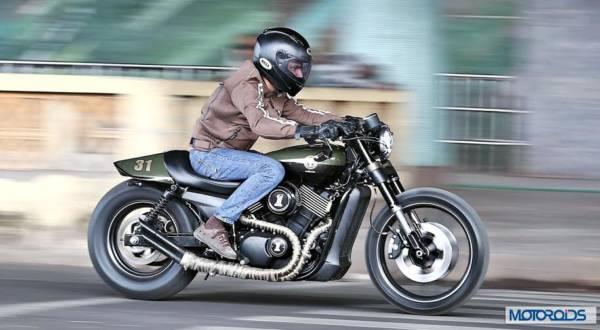 Harley Cafe racer Street 750 by Motomiu (4)