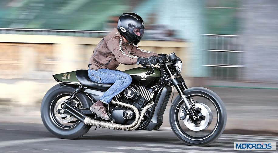 Build Harley Cafe Racer Street 750 By Motomiu Motoroids