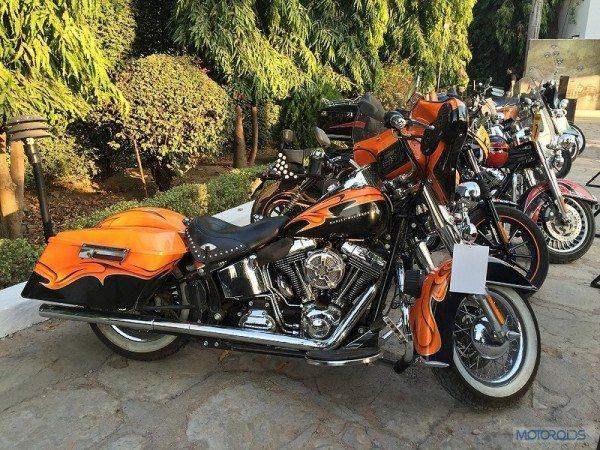 Harley-Davidson Motorcycles at the 3rd Eastern H.O.G. Rally