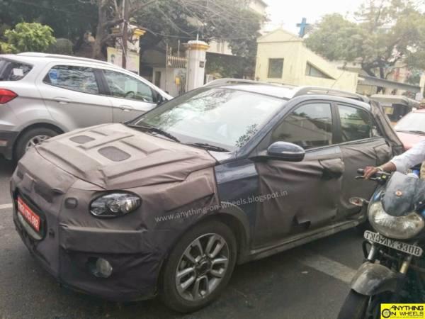 Hyundai-Elite-i20-Cross-Test-Mule-Chennai-1