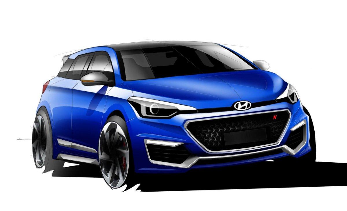 coming soon hyundai i20 n hot hatchback motoroids. Black Bedroom Furniture Sets. Home Design Ideas