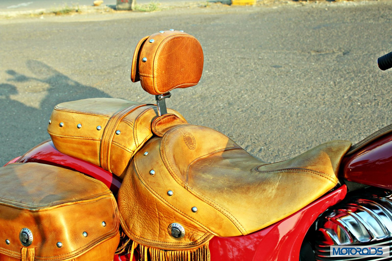 Indian Chief Vintage Review - Details - Additional Accessory - Rider Back Rest