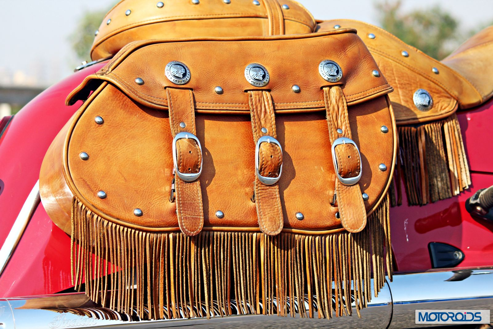 Indian Chief Vintage Review - Details - Saddle Bags - 2