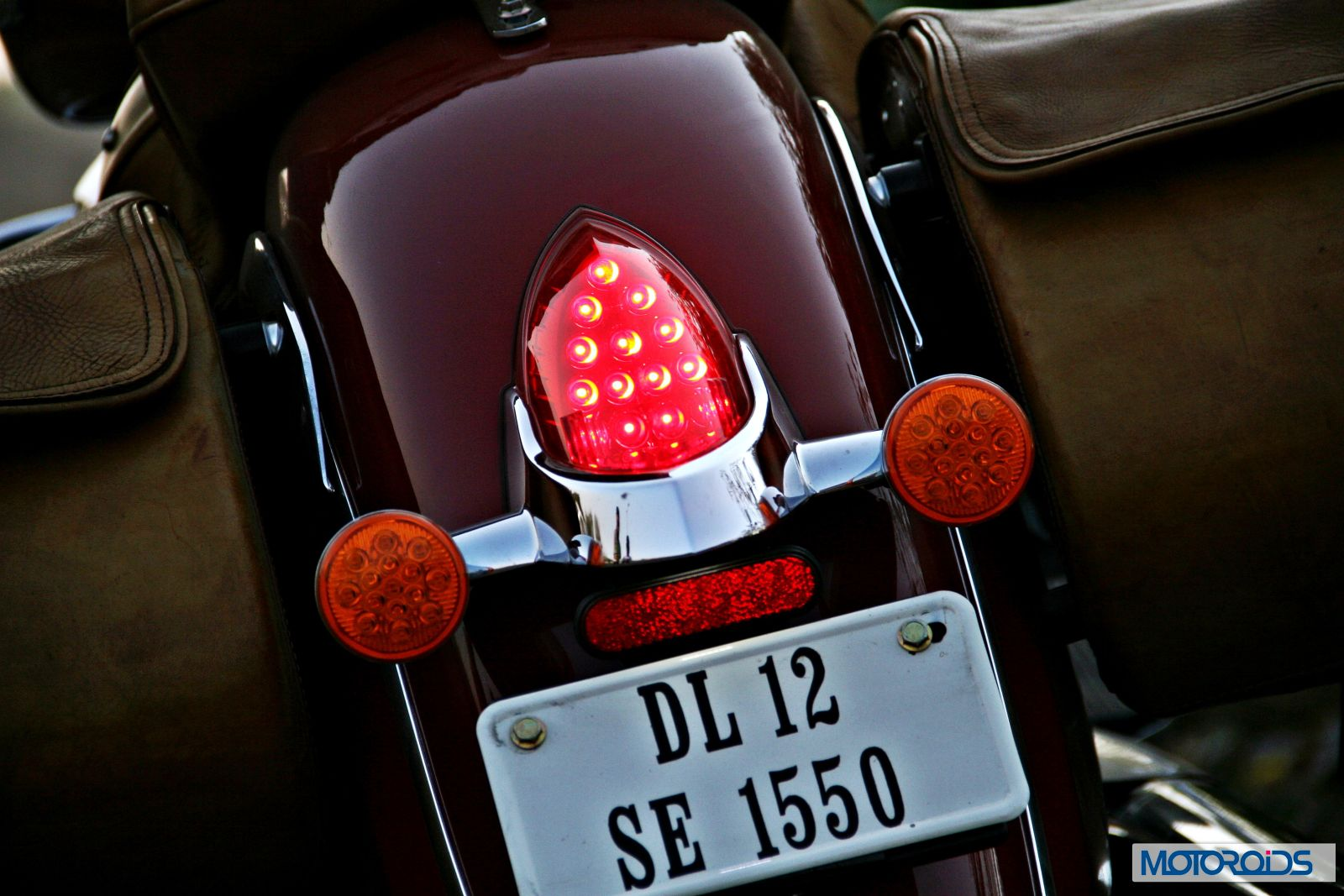 Indian Chief Vintage Review - Details - Tail Light - Illuminated (1)