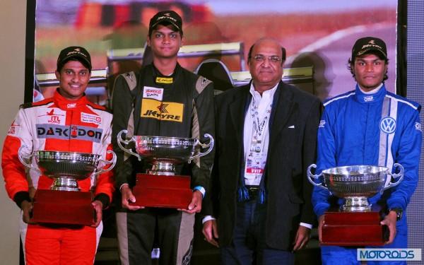 JK Racing India Series champion (1)