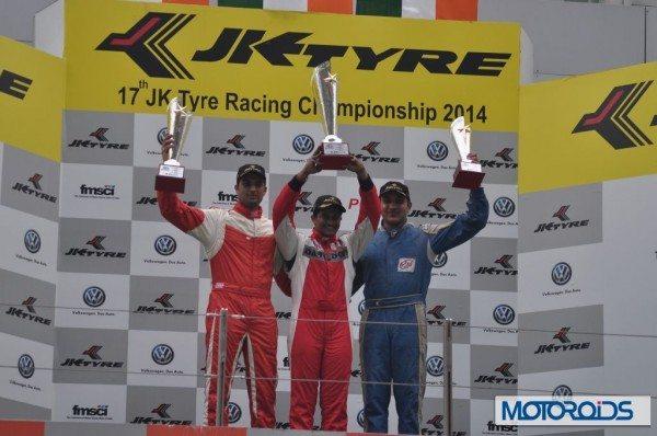 JK Racing India Series champion (2)