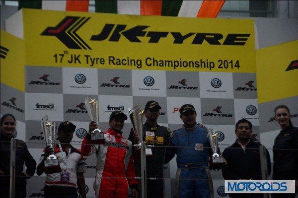 JK Racing India Series champion (3)