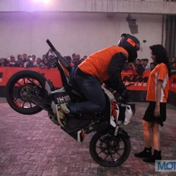 KTM organises stunt show for motoring fanatics in Ghaziabad