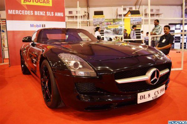 Mercedes SLS AMG India
