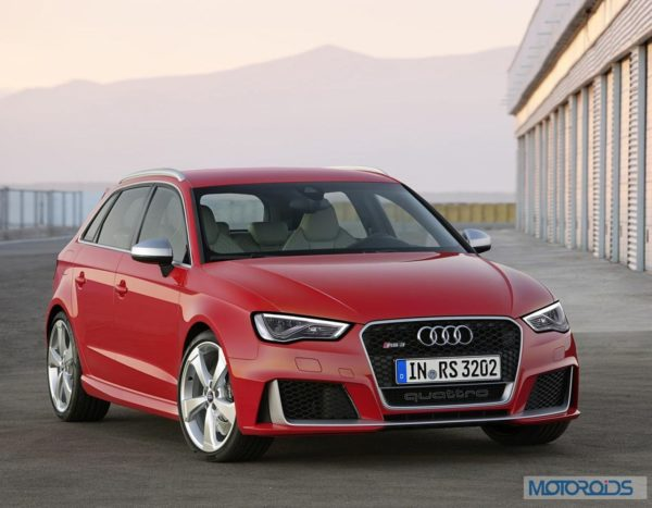 New Audi RS3 Sportback - Official Images (1)