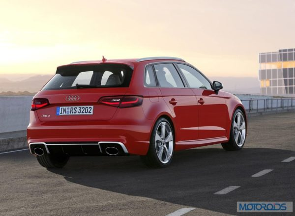 New Audi RS3 Sportback - Official Images (2)