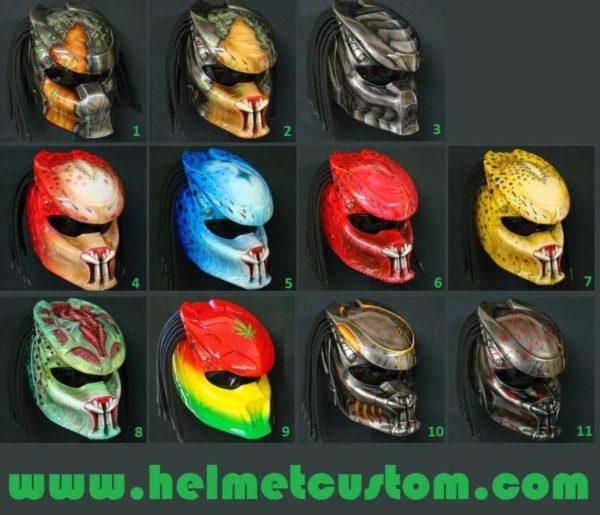 Preadtor Helmets (4)