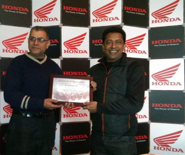 Surajit Pramanik - Honda Big Bike Rider in India (1)