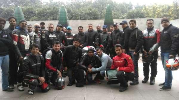 Surajit Pramanik - Honda Big Bike Rider in India (2)