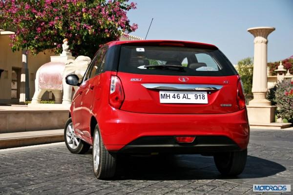 Tata Bolt still red rear (2)