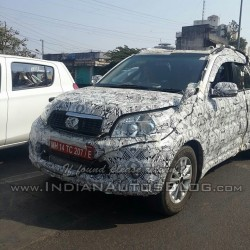 Spied in India: Toyota Rush compact SUV