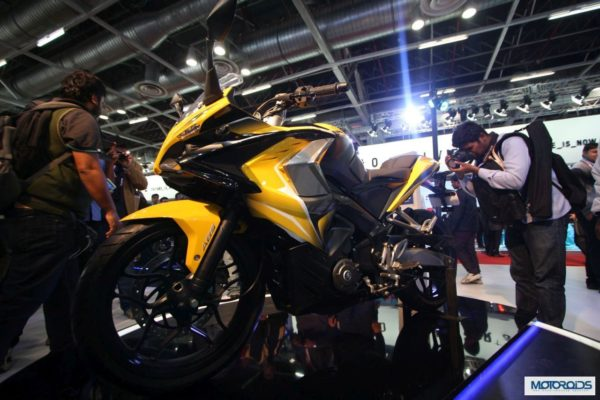 Upcoming Motorcycles 2015 – Bajaj Pulsar 400SS – 3