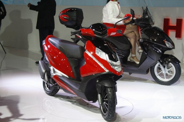 Upcoming Motorcycles 2015 - Hero MotoCorp Dare Scooter - 1