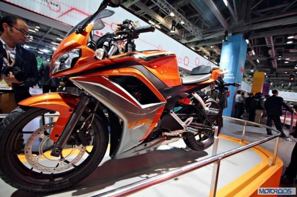 Upcoming Motorcycles 2015 - Hero MotoCorp HX250R - 1
