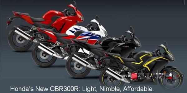 Upcoming Motorcycles 2015 - Honda CBR300R - 1