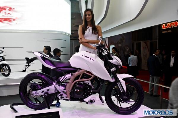 Upcoming Motorcycles 2015 - TVS Draken