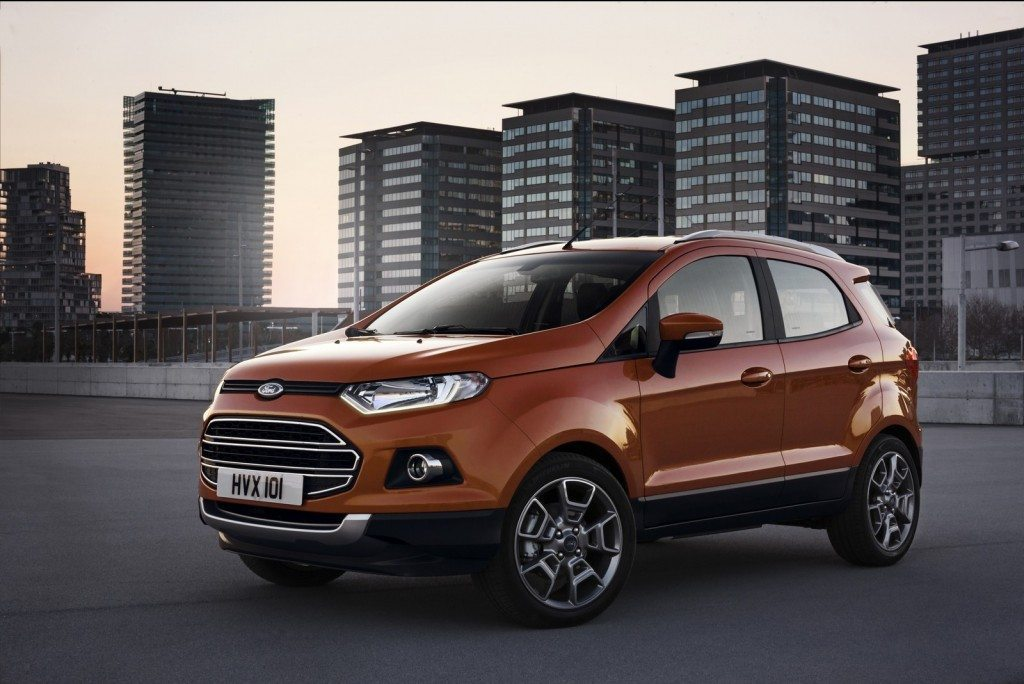Upcoming cars 2015 Ford Ecosport