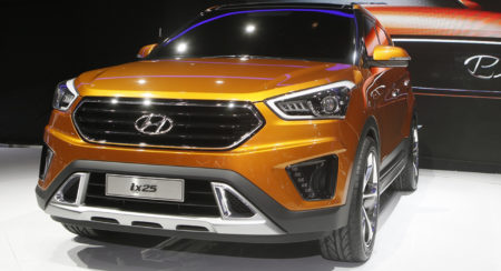 Upcoming cars 2015 Hyndai ix25 compact SUV 2