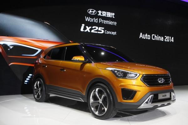 Upcoming cars 2015 Hyndai ix25 compact SUv