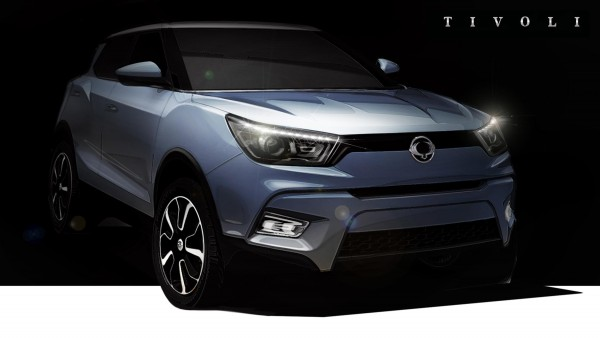 Upcoming cars 2015 Ssangyong Tivoli
