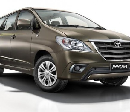new car launch 2015 updated toyota innova and fortuner
