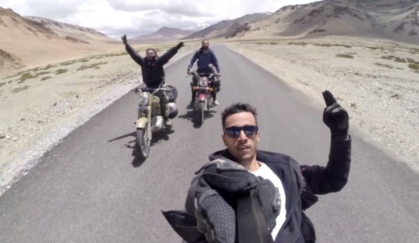 bikers reveling in Leh Ladakh