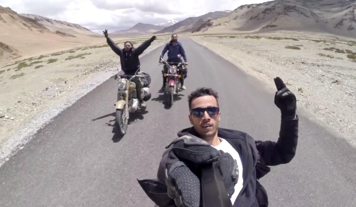 Bikers Reveling In Leh Ladakh Motoroids Com