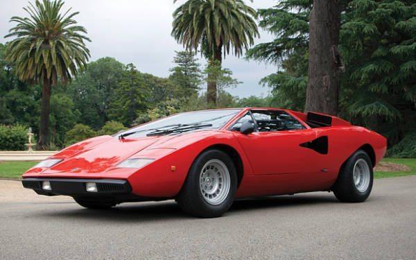 1977 Lamborghini Countach LP400 Periscopo Auction
