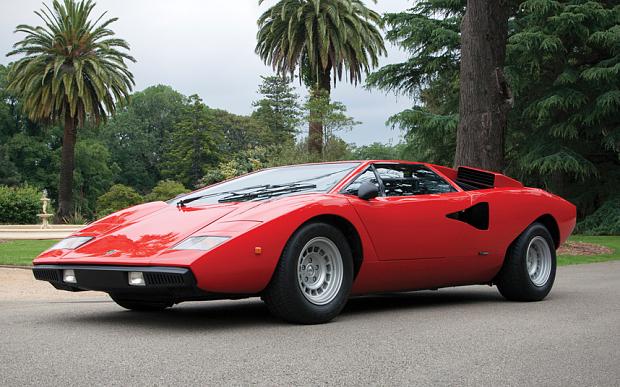Collector S Crave Three Rare Lamborghini Countachs Up For