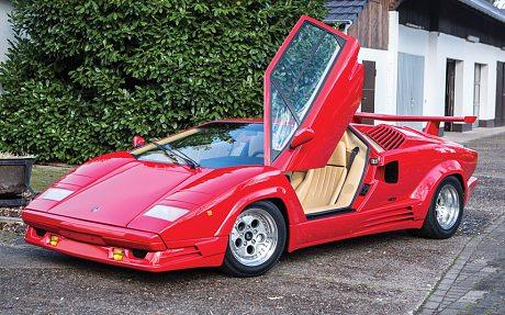1989 Lamborghini Countach 25th Anniversary Edition auction