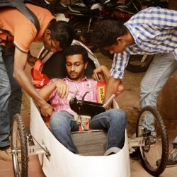 Engineering students develop car that delivers 200 kms in a litre of petrol