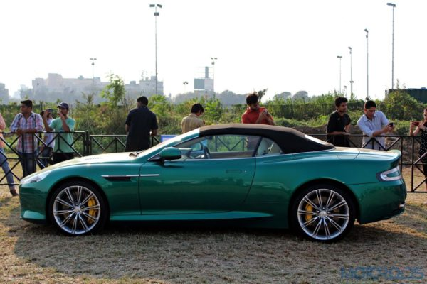 2015 Parx Super Car Show - Aston Martin Virage Volante