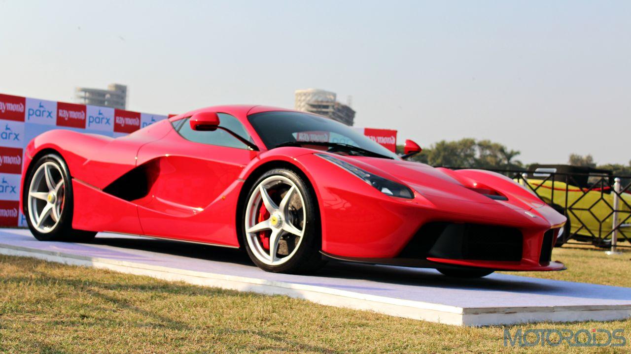 2015 Parx Super Car Show - LaFerrari (1)