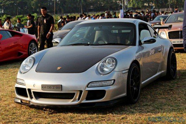 2015 Parx Super Car Show - Porsche 911 Carrera S 997 with Vorsteiner kit (3)