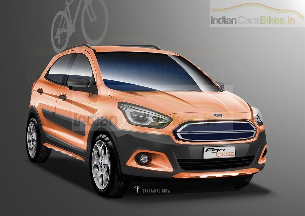 Render: Imagining a 2016 Ford Figo Crossover | Motoroids