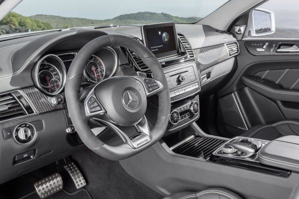 2016 Mercedes-AMG GLE63 S Coupe 4Matic Interior