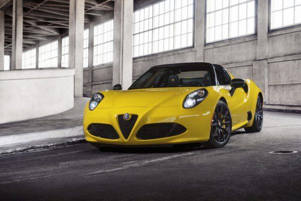 Alfa Romeo 4C Spider -Official Image - 1