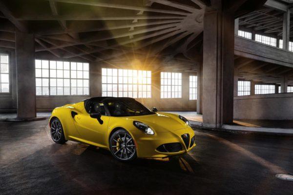 Alfa Romeo 4C Spider -Official Image - 2
