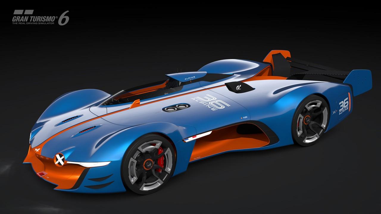 Alpine Vision Gran Turismo Concept 29 Motoroids Com
