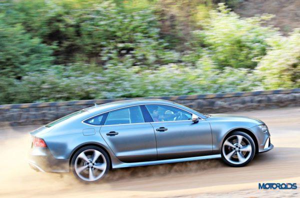 Audi RS7 action shots (3)