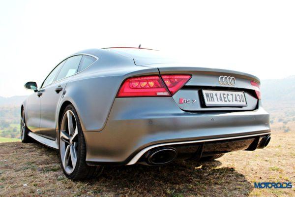 Audi RS7 interior details (4)